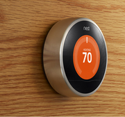 "Nest Labs, a three-year old Palo Alto company that makes a software enabled ""learning"" thermostat. It was started in 2010 by CEO Tony Fadell, a former Apple Inc. executive who is credited with being instrumental in the design of the  iPod. The company is reportedly selling units like hotcakes and raised $80 million in venture capital."