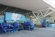 Salesforce had commissioned an outdoor tent that it said would be the largest inflatable structure ever erected in North America.