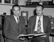 Glenn Seaborg and Edwin McMillan of UC Berkeley shared the 1951 Nobel Prize in chemistry.