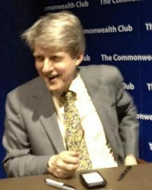 Yale economics professor Robert Shiller speaks at the Commonwealth Club of California.