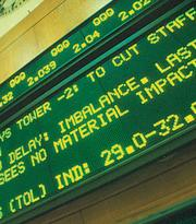 The Pacific Stock Exchange reopened Sept. 17, 2001: Lots of news, most of it bad.