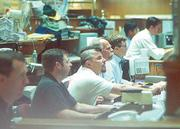 The Pacific Stock Exchange reopened Sept. 17, 2001: Equities traders tried to act normally on an abnormal day.