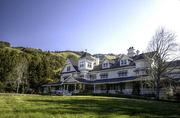 The main house at Skywalker Ranch in Marin.