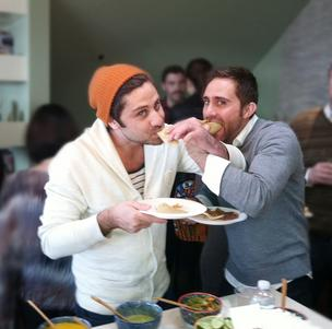 Brothers and Chefs Feed founders Jared and Steve Rivera.