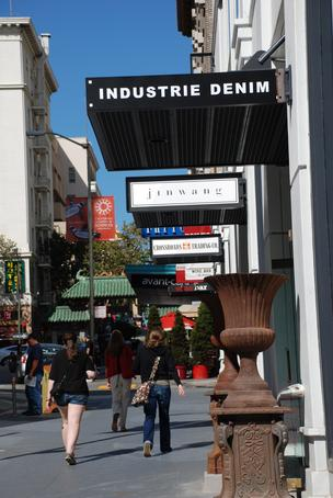 Industrie Denim fits in with its Grant Street neighbors