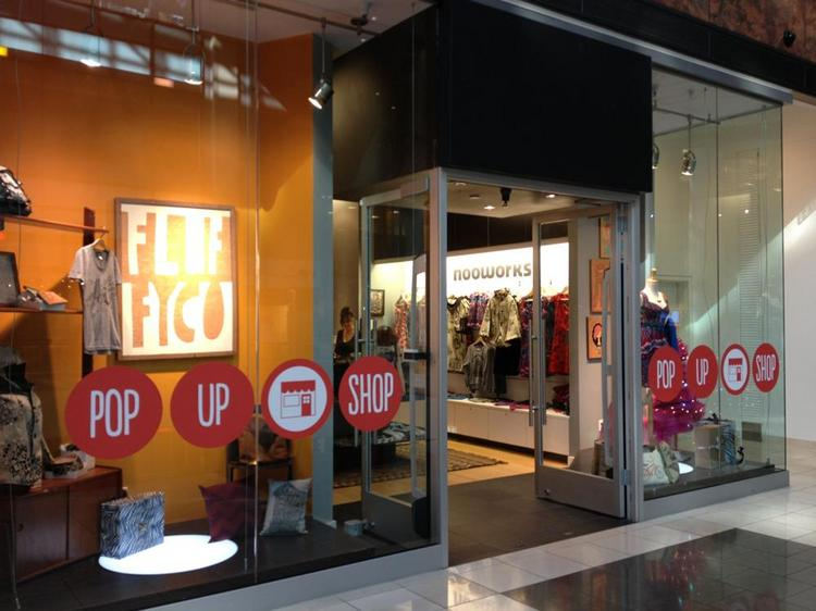 Storefont will host a rotating selection of pop-up retailers at the Westfield San Francisco Centre this month.