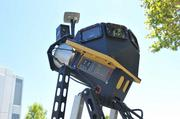 This mapping unit relies on satellite signals and 64 lasers, and collects  1.3 million points per second.