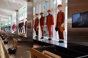 The Uniqlo store has 91 mannequins and 19 checkout registers.