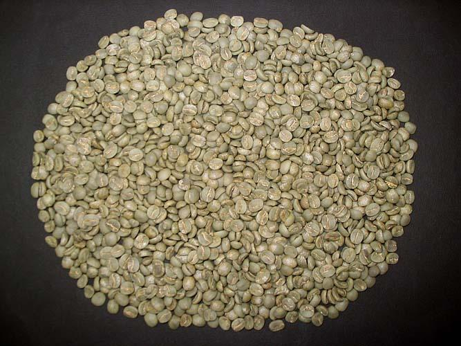 Green arabica coffee beans are now about $3 a pound.