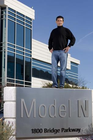 Zack Rinat, founder and CEO of Model N.