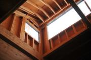 This skylight-type structure will allow sunlight to enter interior that don't have windows.