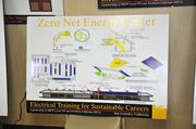 Union officials brought on environmental and building experts to design a system for saving and producing energy.