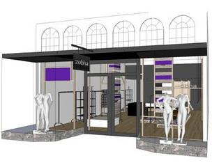 A rendering of the new Zobha store in Mill Valley