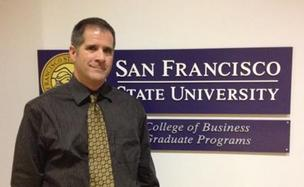 No. 7: San Francisco State University, College of Business Graduate Programs Graduate business enrollment, Fall 2011: 395 Total cost to complete full-time MBA:  Resident: $36,632 Non-resident: $49,932 Average GMAT score: 590 MBA director: Aaron Anderson, Director of graduate business programs