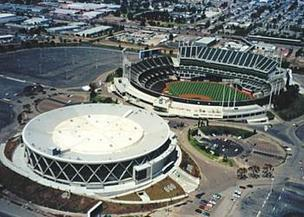 SMG wasn't picked to continue managing O.co Coliseum and Oracle Arena. It has filed a protest with the Oakland-Alameda County Coliseum Authority.