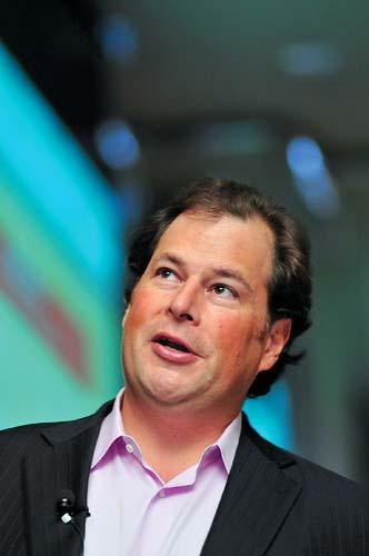 Salesforce CEO and chairman Marc Benioff.