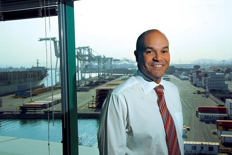 Oakland Port Director Omar Benjamin.