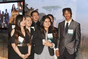 Some of Biotech Partners' current crop of students, who receive classroom training and paid internships, at the nonprofit's 20th anniversary gala April 3.(Eric Slomanson / Slomo Photos)
