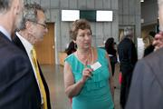 Biotech consultant Tina Etcheverry, a Biotech Partners board member, led the committee that planned the nonprofit's 20th anniversary gala April 3.(Eric Slomanson / Slomo Photos)