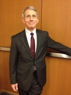 Dr. Tony Fauci has led the National Institute of Allergy and Infectious Diseases since 1984. It has an annual budget of $4.5 billion.