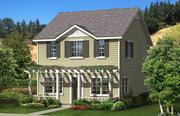 This rendering depicts one of six house types that will be available in Orinda Grove beginning next spring.