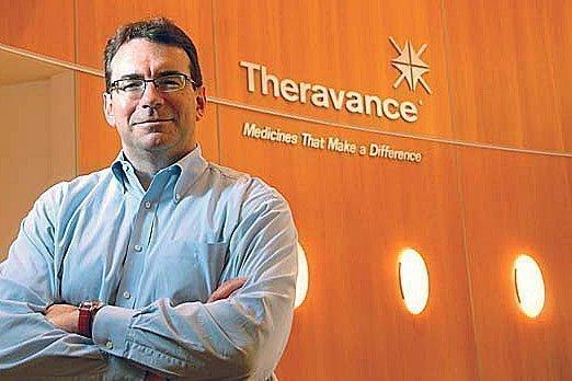 Rick Winningham is CEO of Theravance.