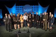 All of BayBio's 2012 DiNA award winners at the biotech trade group's Pantheon ceremony Thursday night.