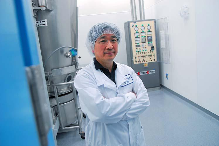 Impax President and CEO Larry Hsu: Company hoping for 50-50 revenue split between generics and branded drugs by 2017.