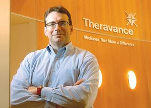 Rick Winningham is CEO of South San Francisco-based Theravance Inc.