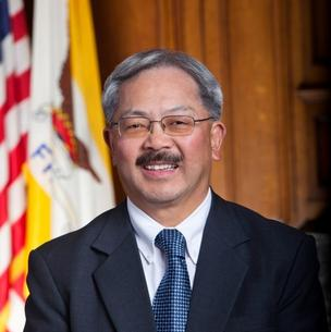 San Francisco Mayor Ed Lee --  his city worked with Yelp on the new program.