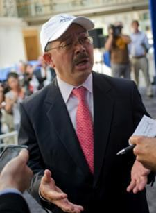 San Francisco Mayor Ed Lee expressed confidence about America's Cup fundraising.