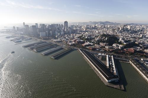 Pier 29 (on the right side of the photo) is 'extremely important' to any America's Cup deal with San Francisco, the race's main negotiator said.
