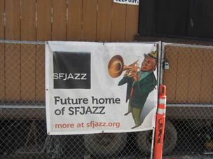 General contractor Hathaway Dinwiddie is underway on the new SFJazz Center, which will open its doors early next year.