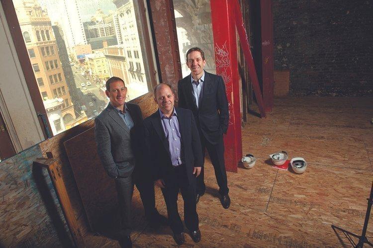Jay Atkinson, Bob Basso, Jamin Sei of Cannae Partners