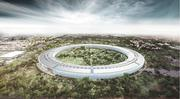 A rendering of the proposed design Apple is entitling for a 2.8 million-square-foot campus in Cupertino.
