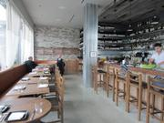 The interior of Haven, the first restaurant to open in the Jack London Market.