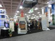 Vendors display any product that could possibly go in a home.