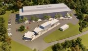 This an aerial rendering of the FLEXLAB, which is under construction with a completion date of late 2013.
