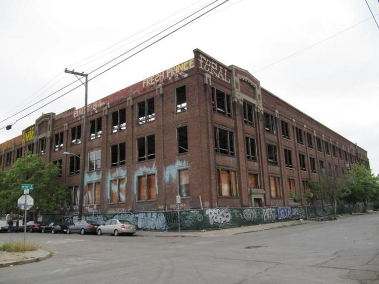1614 Campbell is a historic building formerly used to manufacture a variety of products including light bulbs.