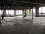 The interior of the building was gutted to make room for live/work lofts.