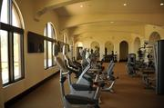 The fitness center for the residents of Wilder, a new housing project in Orinda.