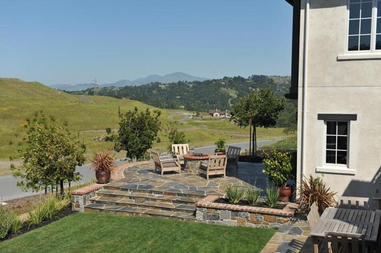 The homes at Wilder in Orinda feature outdoor living spaces with stunning views.