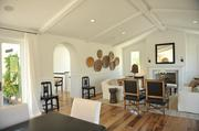 A common area in one of the model homes in Wilder, a new housing project in Orinda.