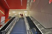 The entrance to the new City Target is above ground level, an uncommon feature for the retailer.