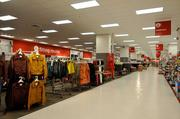They layout is similar to other Targets, except the signs are smaller -- one of several measures to avoid clutter in the smaller store.