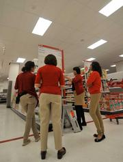 New City Target employees are helping prepare the store for its grand opening this month. The retailer hired over 300 new employees.