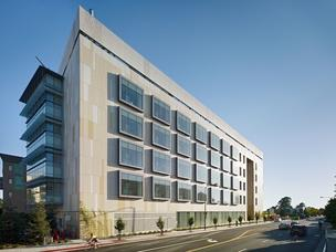 UC Berkeley's new Energy Biosciences Institute building will bring various departments under one roof to focus on developing new fuel technologies to address energy and climate change issues.