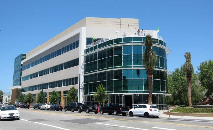 Wareham's EmeryStation Greenway building is the first building constructed in Emeryville since 2007.