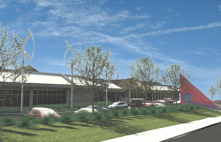 The Zero Net Energy Center will house training for the International Brotherhood of Electrical Workers Local 595 once it's completed early next year.
