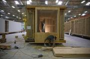 Zeta Communities is building the units individually at its factory in Sacramento.